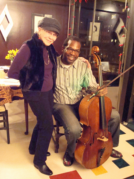 Jini Dellaccio and Paul Rucker, 2011