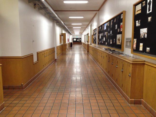 1st floor corridor