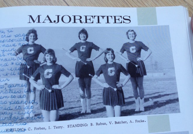 Claremont senior high yearbook, 1962